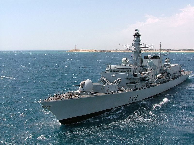 Royal Navy Frigate to Be Refitted With...