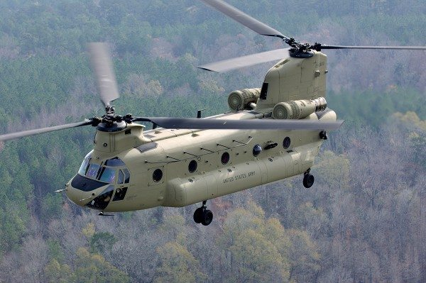 New Chinook CH-47 Helicopters for Australia