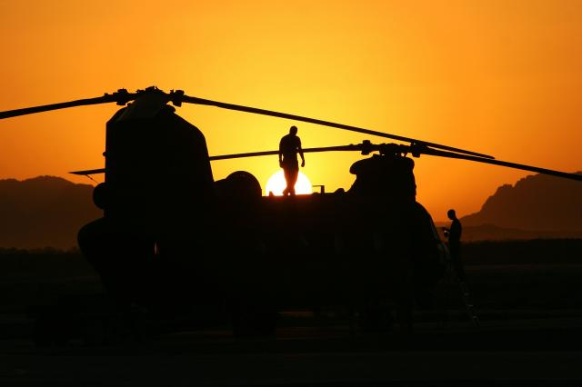 Australia's Chinook Mission In Afghani...