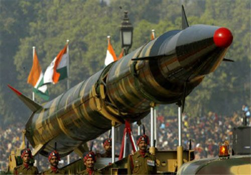 Indian AGNI I Ballistic Missile Launch...
