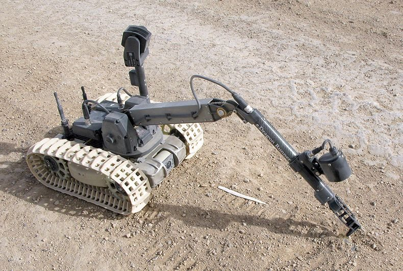 Bomb Disposal Robot Put to Work in Afghanistan