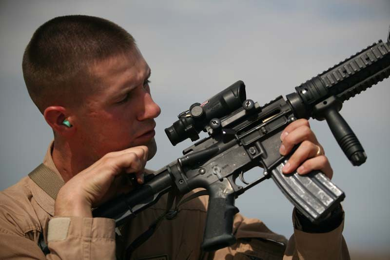 US firm backs off Jesus Rifle scopes