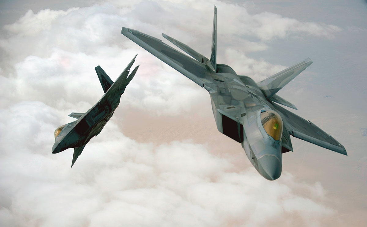 US Deploys F-22 Stealth Jets in Southw...