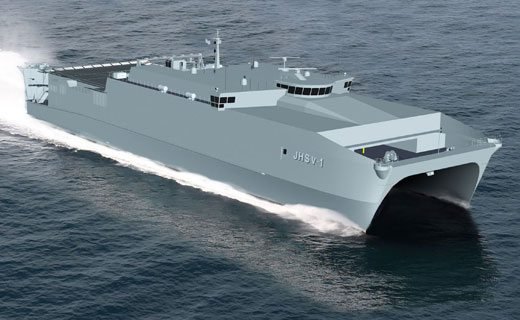 Military Sealift Command Accepts Delivery of First JHSV