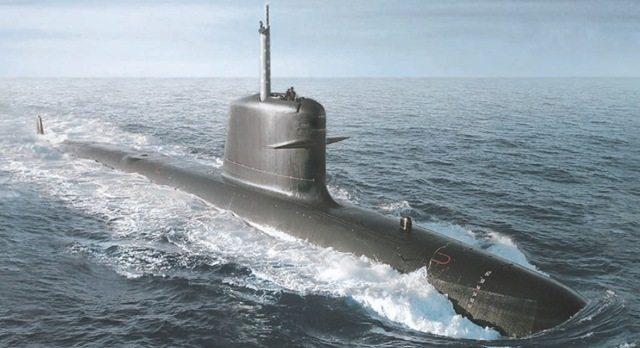 First Scorpene Submarine for Brazil Re...