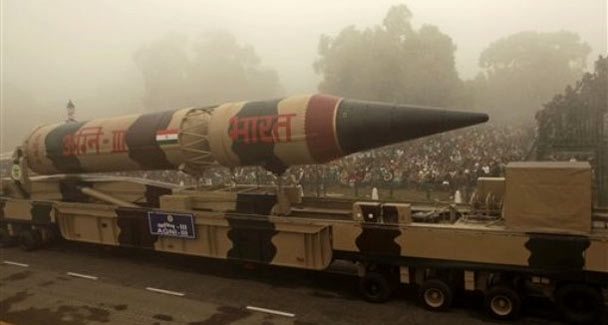 India Test fires Agni-1 Ballistic Miss...