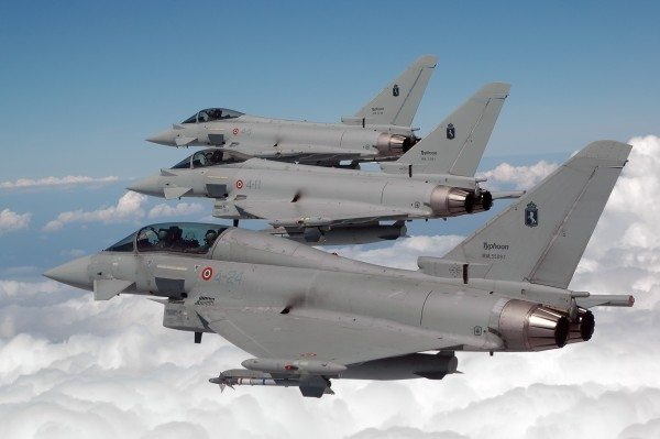 Eurofighter and Euroradar to Develop Latest Generation AESA Radar