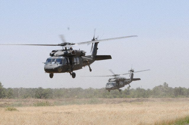Air Force Officials Announce Helicopte...