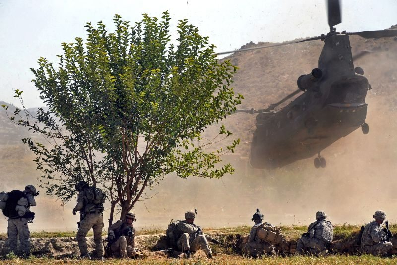 US helicopter crashed in Taliban trap:...
