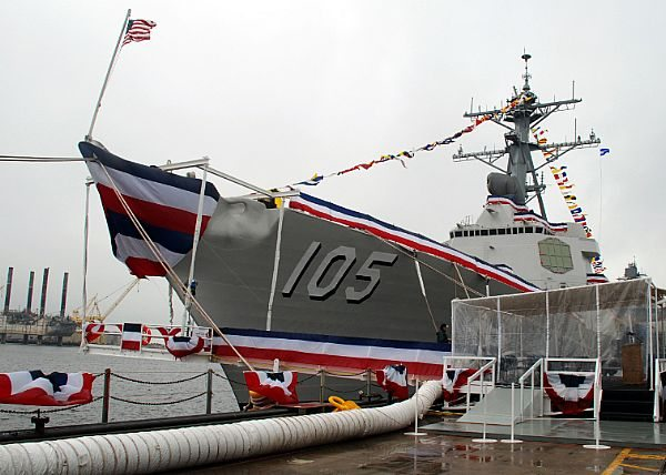 USS Dewey DDG 105 Commissioned at Seal Beach