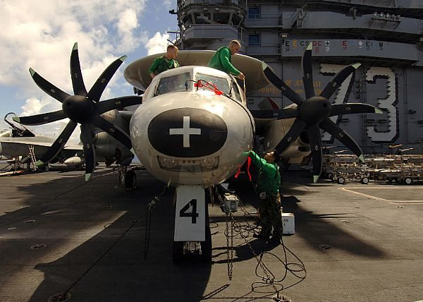 Upgrades for French E-2C Hawkeye Aircraft