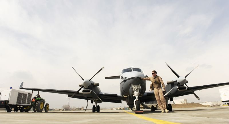 MC-12W Liberty Airmen Watch Over Afghanistan
