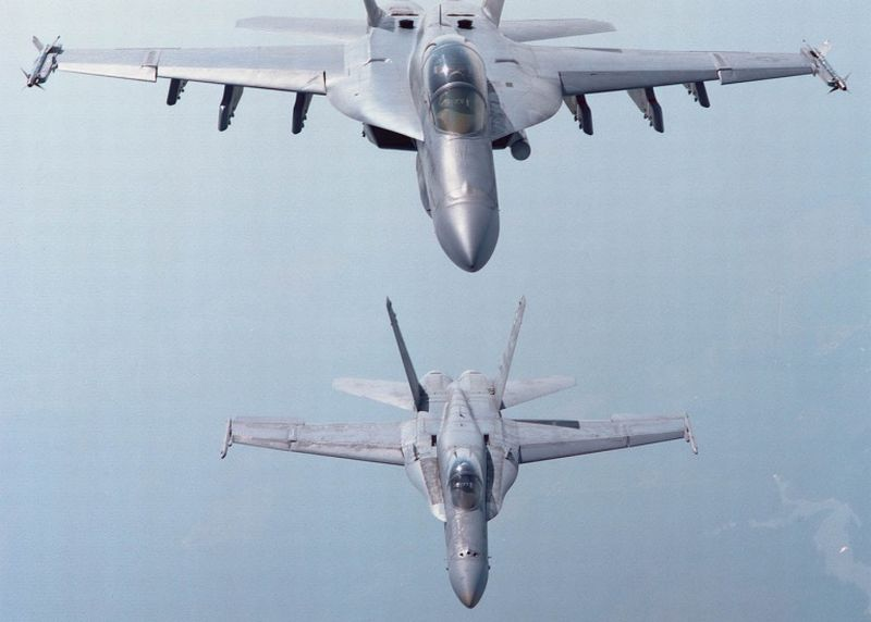 First Super Hornets on their Way to Australia