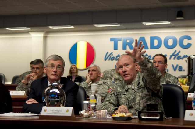 TRADOC important to Army present, future, says McHugh