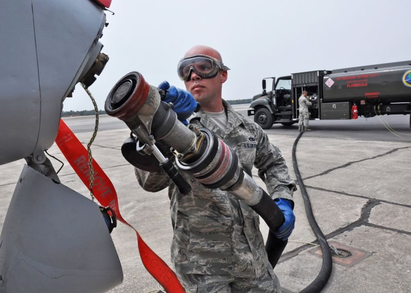 Air Force officials take step toward cleaner fuel, energy independence
