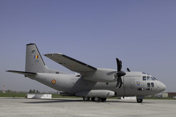 First Two C-27J Spartan Aircraft for the Romanian Air Forces