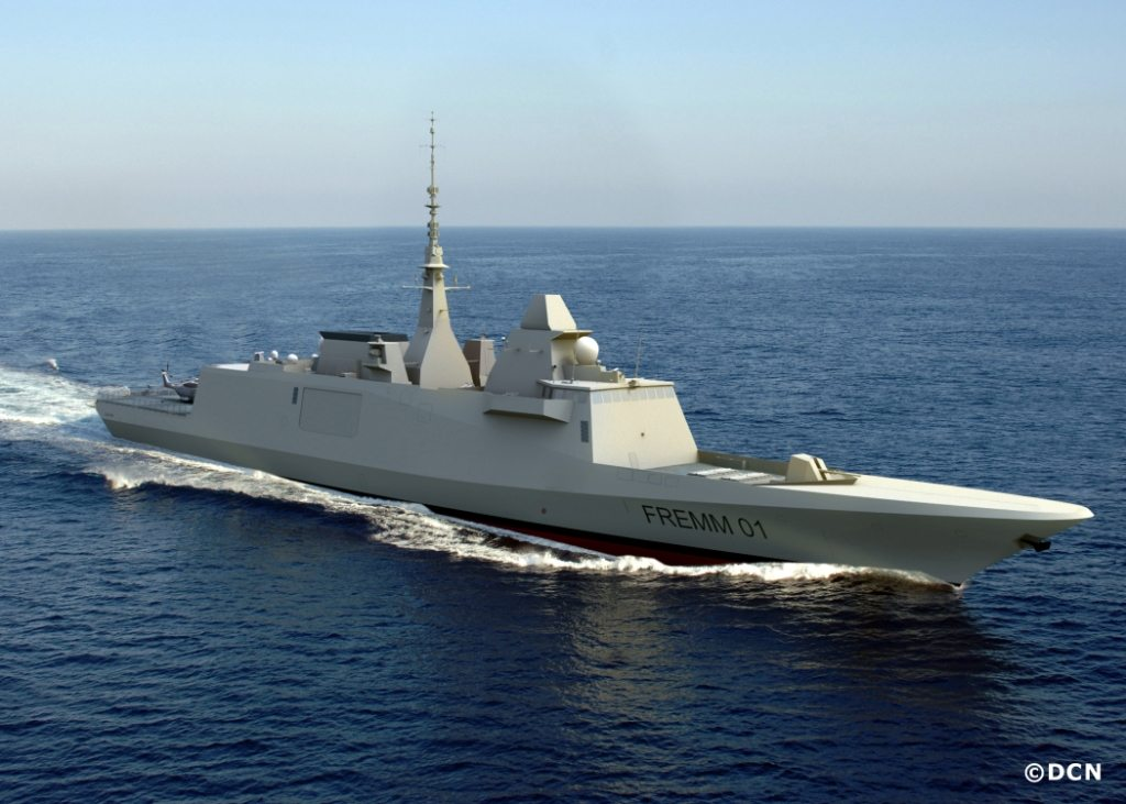 First Italian FREMM Frigate Delivered