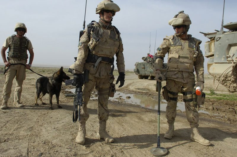 Warfighters team up to combat IEDs in ...