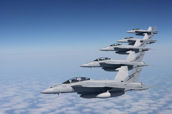 Two Squadrons of Super Hornets in RAAF...