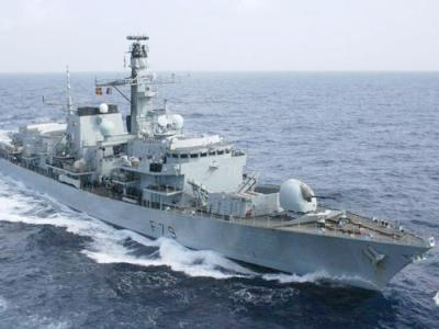Final Royal Navy Frigate Gets Sonar Up...