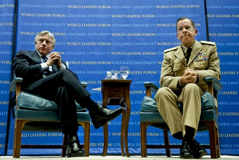 Mullen: Diplomacy Best Approach to End Iran's Nuclear Proliferation