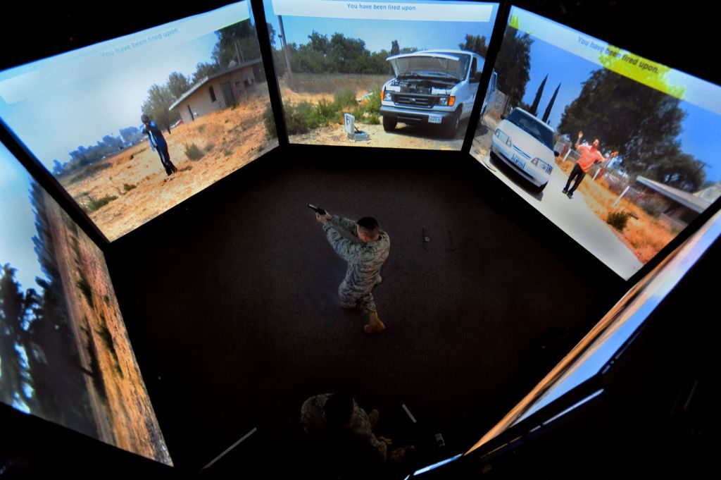Virtual world prepares mobility Airmen for real mission