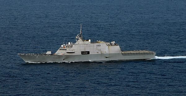 USS Freedom to Enter 3rd Fleet