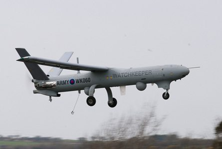 France to Evaluate Watchkeeper UAV