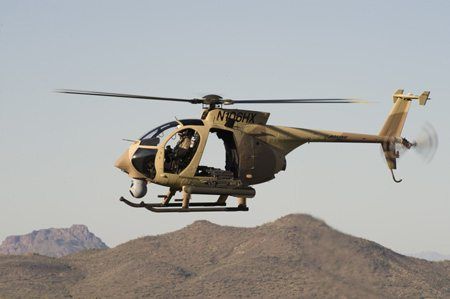 Maiden Flight for Boeing AH-6i Light Helicopter