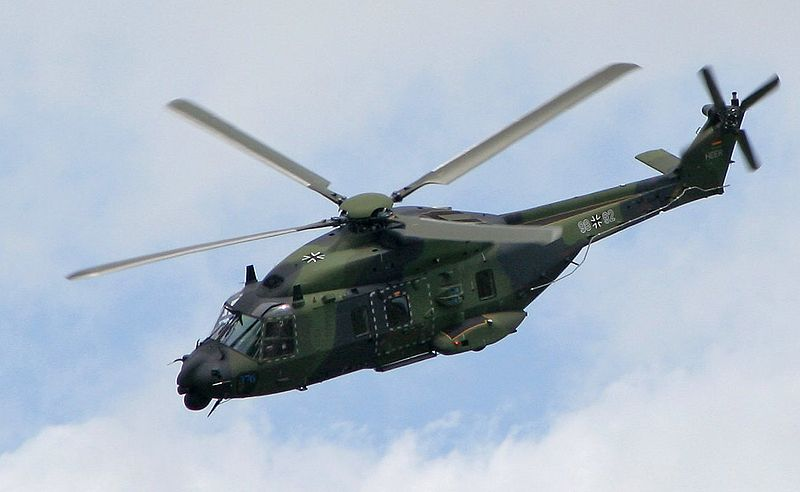 FLASH SONICS Sonar Enters Service with French Navy NH90 Helicopters