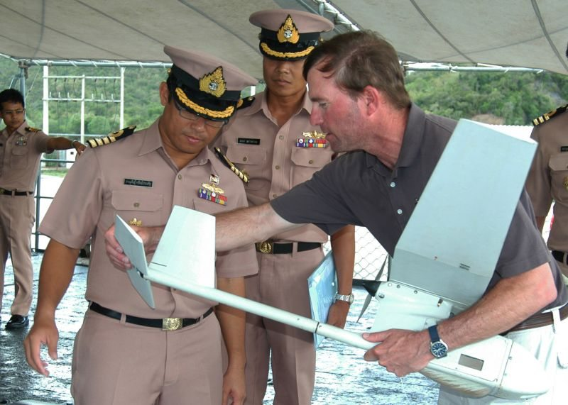 Unmanned Aerial Vehicles a New Addition to CARAT Thailand 2010