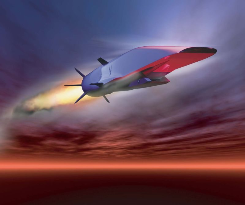 X-51A Waverider Hypersonic Aircraft