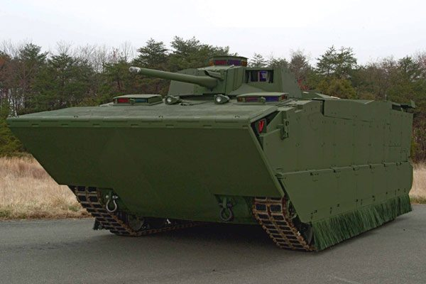 Marine Corps Tests New Fighting Vehicle