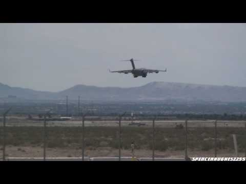 ME Phase 10A – 2 C-17 Globemaster III's Departure & Recovery