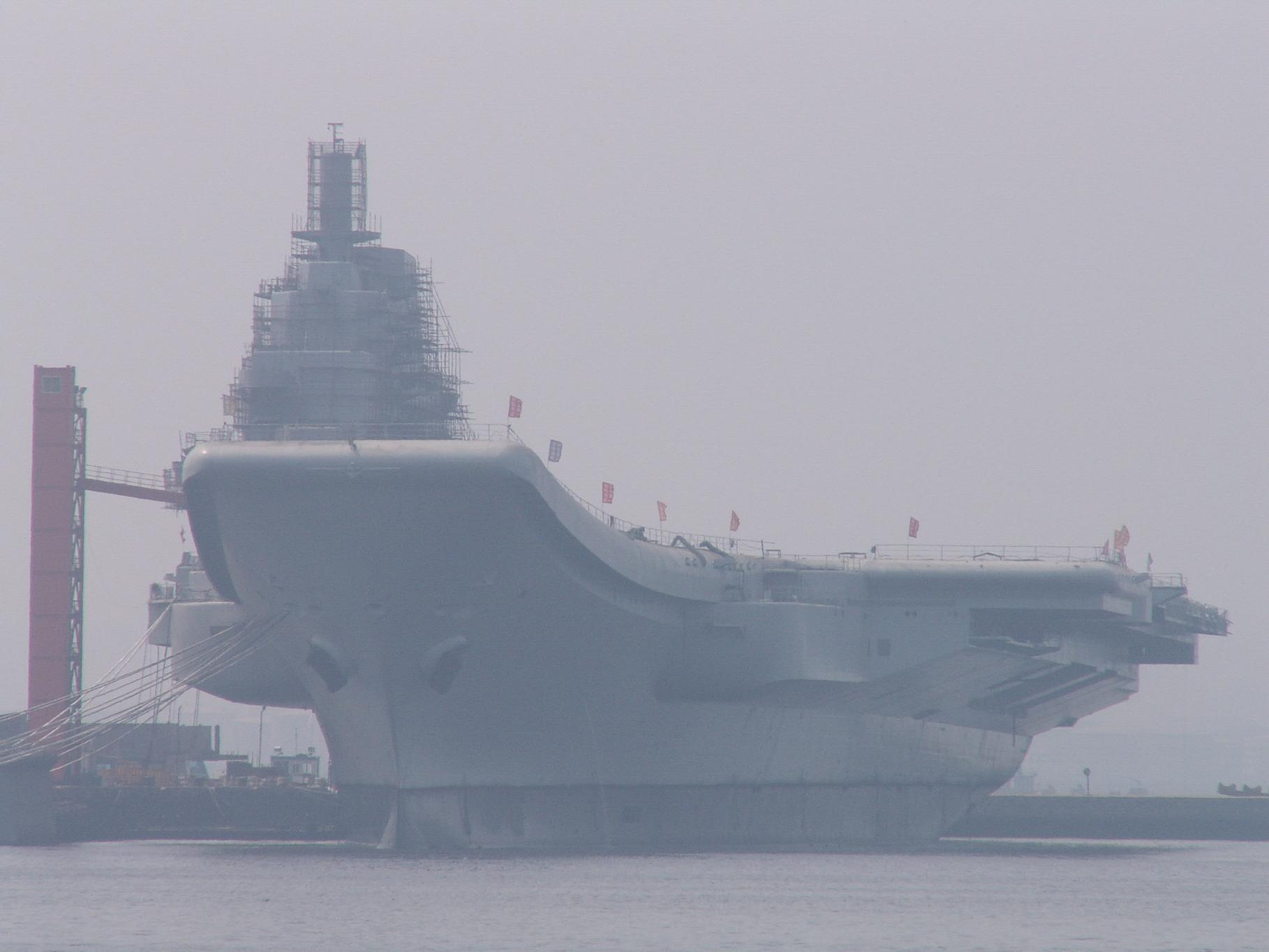 Chinese Varyag Aircraft Carrier Due to...