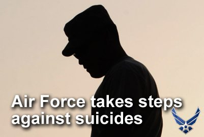 Air Force takes steps against suicides