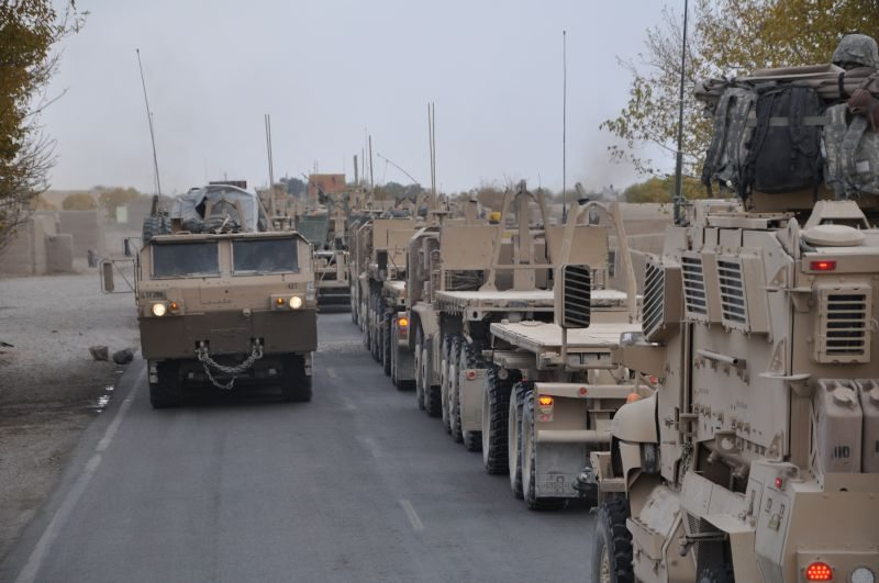 US Defense Officials Questioned About Afghan Trucking Contract