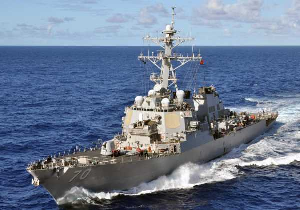 Fiscal Year 2014 US Navy Destroyer Con...