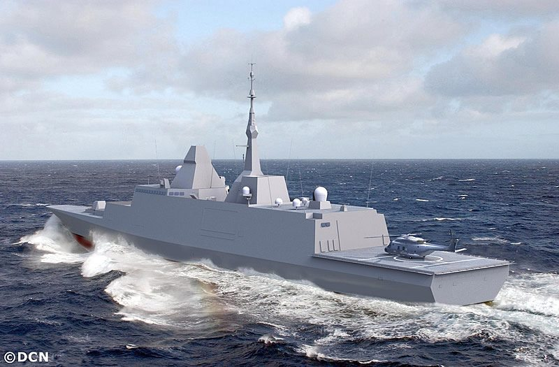 First French FREMM Frigate Prepares for Sea Trials