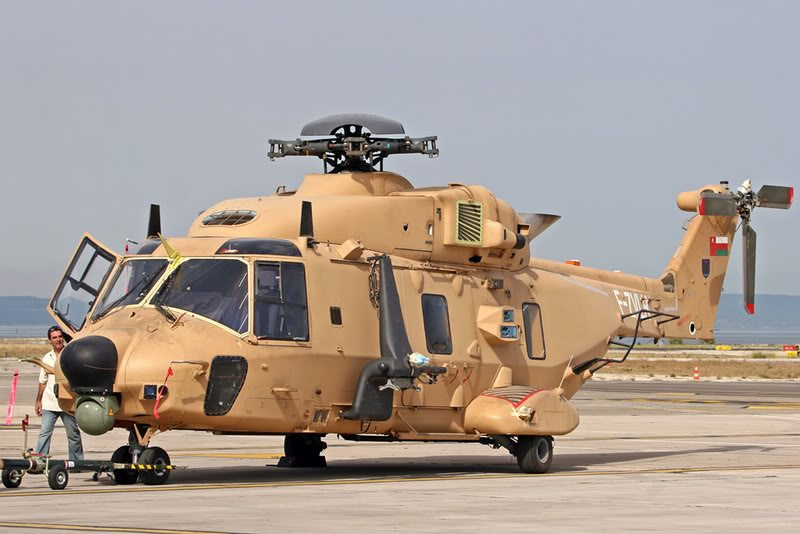 First NH90 Helicopters delivered to Royal Air Force of Oman