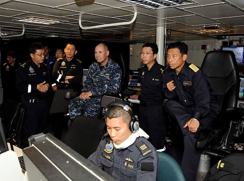 Singapore Navy in Multilateral Naval Exercise in Hawaii