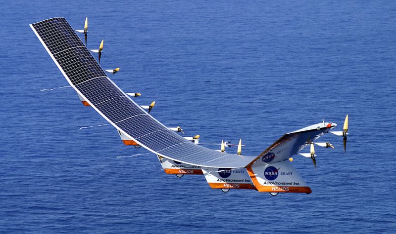 Zephyr Solar Powered UAV Soars to New World Records