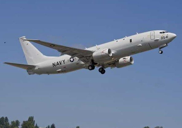 Boeing Delivers 5th Production P-8A Po...