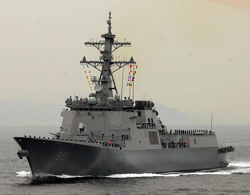 Aegis Weapon System Verified During Korean Navy Ship Trials