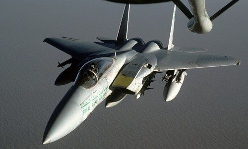 Saudi Air Force Completes Transatlanti...