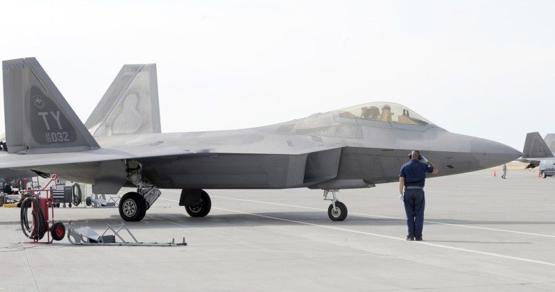 Lockheed Martin to Support F-22 Raptor Sustainment