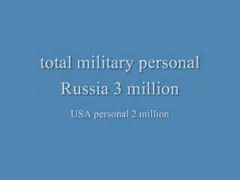 Russia vs USA military