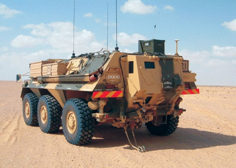 Germany Upgrades Fox Transport Vehicles, Buys More Heron UAVs