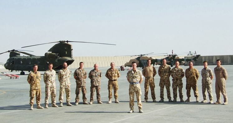 Multinational Force Leads Helicopter Operations in Afghanistan
