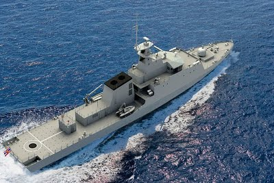 Thai Offshore Patrol Vessel Takes Shape